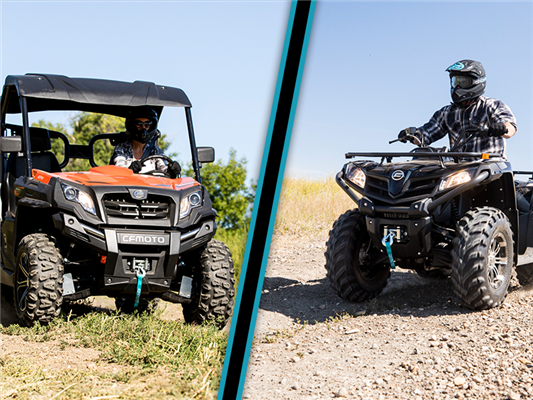 Comparing ATVs and Side by Sides