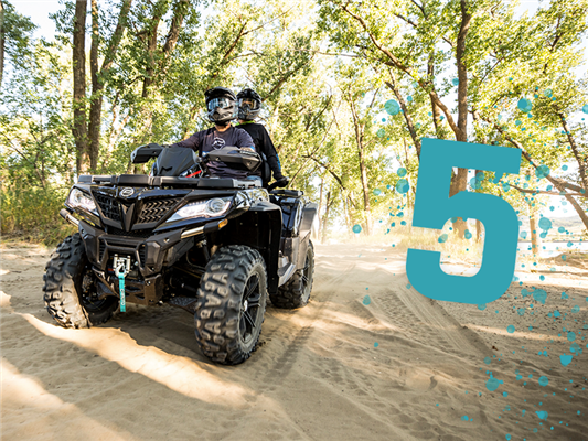 Five of Our Most Popular ATV Features