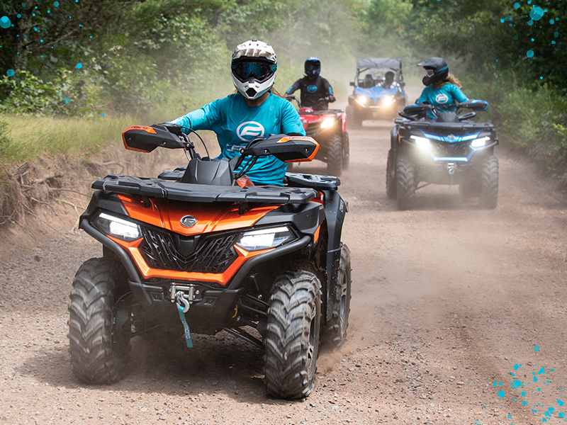 How and Where to Plan a Large-Group ATV Ride