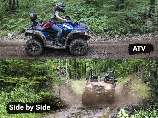 ATV or Side by Side: Which One is Best for You?