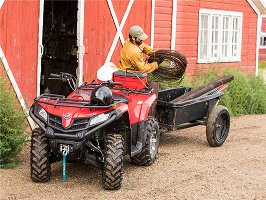 Why An ATV Makes A Great Farm Vehicle