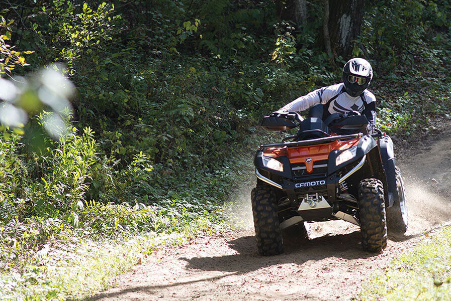 2016 CFORCE 500 HO EPS ATVs Specifications + Features