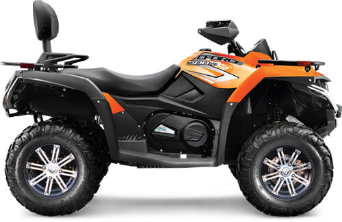2016 CFORCE 500 ATVs Specifications + Features | CFMOTO USA